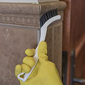 Carlisle Flo-Pac Commercial Grout Brushes, White |