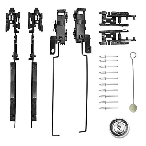 Benefast Sunroof Track Assembly Repair Kit Fits for Ford F150 F250 ...