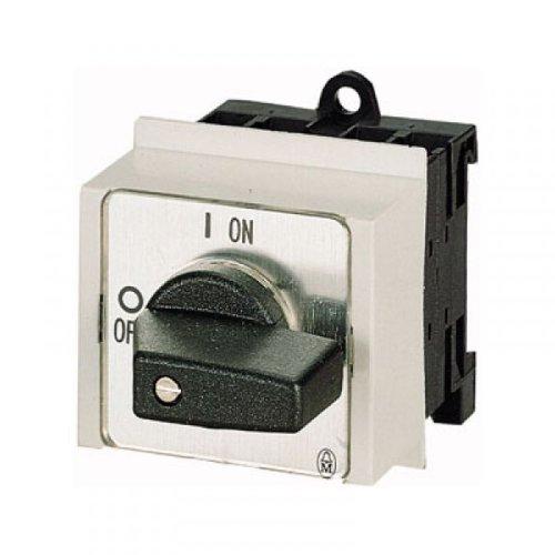 Eaton 041229 Umschalter, Kontakte: 4, 20 A, Frontschild: Hand-0-Auto, 45 Grad, Rastend, Verteilereinbau