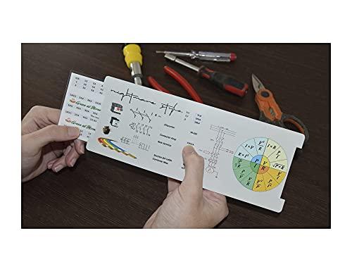 NIGHTMARE STYLE: Regla de Cálculo para Instalaciones Eléctricas. Elige Sección de Cable, Disyuntor, Relé Térmico o Contactor. Para Estudiantes, Profesionales y Bricolaje.