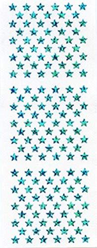 スターシール 水色 ホロ BCH007【ご注文1回につき1個 サン・クロレラ サンプルプレゼント!】