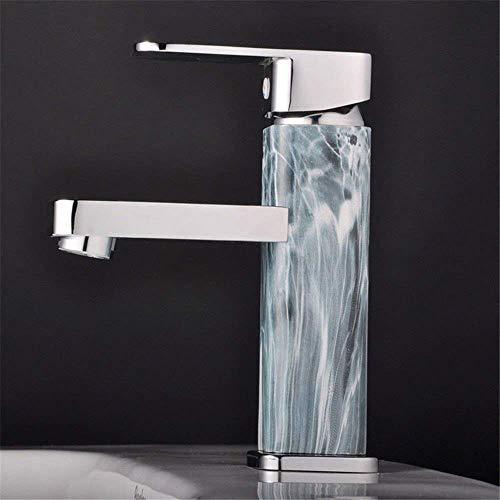 LanGuShi SLT0213 Baño Fregadero Faucet Lavabo Mezclador Grifo Agua Caliente y fría Agua 1 Agujero Lavabo Lavabo Grifo Barra de baño Grifo