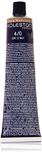Wella Professionals Koleston Perfect Permanente CremeHaarfarbe, 4/ 0 mittelbraun, 1er Pack (1 x 60 ml)
