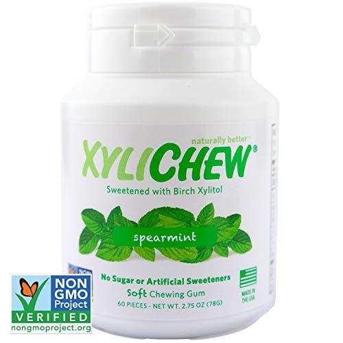 XYLICHEWXyliChew Gum Spearmint Jar60CT