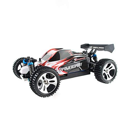 efaso WL Toys A959 - schneller RC Buggy - 50 km/h schnell, wendig, voll digital proportional - 2.4 GHz RC Auto mit Allradantrieb - Maßstab 1:18, hoher Fun Faktor