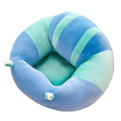 Forart Toldder Infant Baby Sofa Learn Sitting Chair Nursery Support Seat Pillow Protector Plush Cushion Toys(Ship from USA)