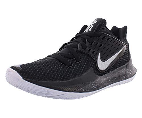 Nike Kyrie Low 2 Mens Av6337-003 Size 8.5 Black/Metallic Silver