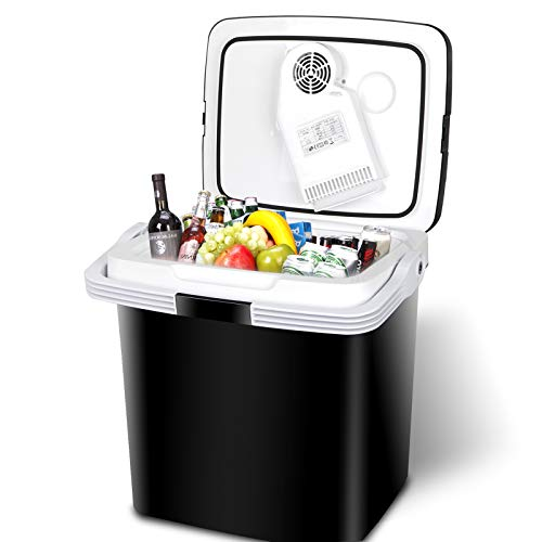 28 Qt Portable Car Cooler and Warmer Electric...