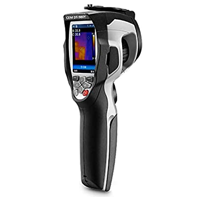 CEM DT-980Y High Performance Thermal Imager (Range: 89.6°F to 107.6°F) for Office, School, Factory Entrance. Ultimate Tool for Fever Detection (Safety Approval: EN 61326-1 & 61010-1) by INSTRUKART