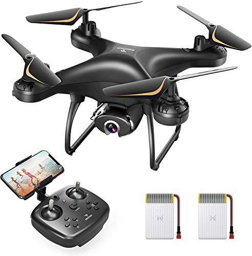 SNAPTAIN SP650 2K Drone with Camera for Adults 2K HD Live Video Camera...