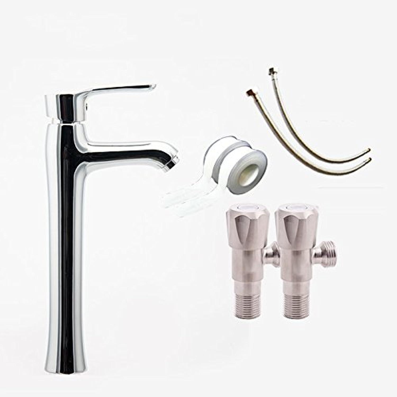 LHbox Basin Mixer Tap Bathroom Sink Faucet Hot and cold bathroom basin Mixer Taps,A,