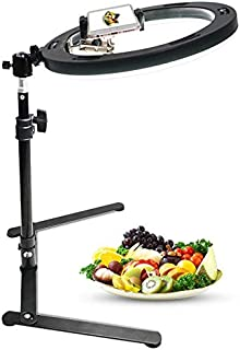 New Photographic Lighting - 10inch LED Ring Light Ring Lamp Studio Photography Camera Photo Fill Ring Light with Stand For...