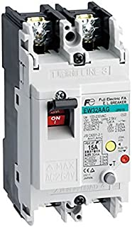 Fuji Electric, EW32AAG-2P005A, Earth-leakage Circuit Breaker 2 Pole 5A 230VAC