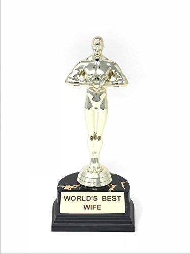 World's Best Trophy 10.5 Inch (World's Best Wife)
