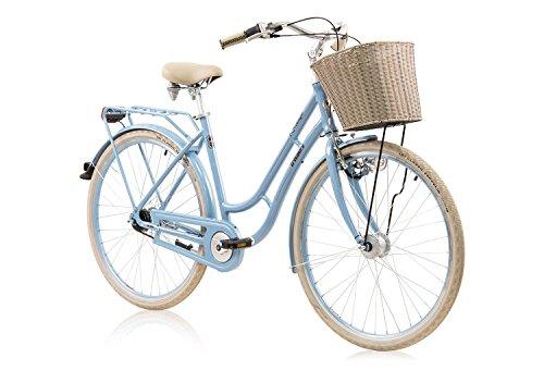 tretwerk DIREKT gute Räder Nostalgie 7 Citybike Damen, Damen-Rad mit 7-Gang Nabenschaltung und Rücktritt, L