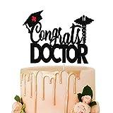 Decoración para tartas de felicitación de doctor, graduación de la escuela, decoración de paty de graduación de enfermera, clase de 2021, accesorio para fotos,