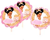 African American Princess Cake Toppers,...