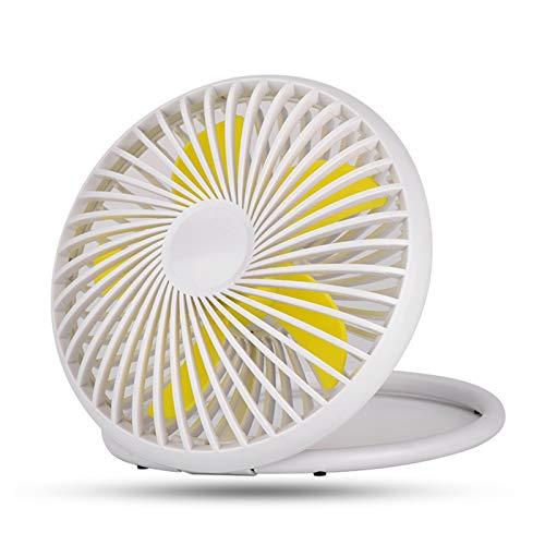 Ventilador de Escritorio portátil Alimentado por USB Ventilador de enfriamiento Personal, Ventilador de Mesa pequeño Ventilador de enfriamiento, Ideal para Escritorio, Oficina, Viajes, Camping, Pesca