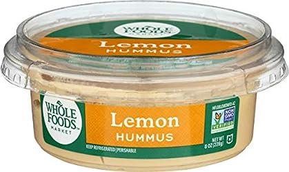 Whole Foods Market, Hummus Lemon, 8 Ounce
