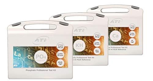 ATI Professional Test Kit Bundle Koffer Ca/KH/PO4 Wasseranalyse Meerwasser Aquarium