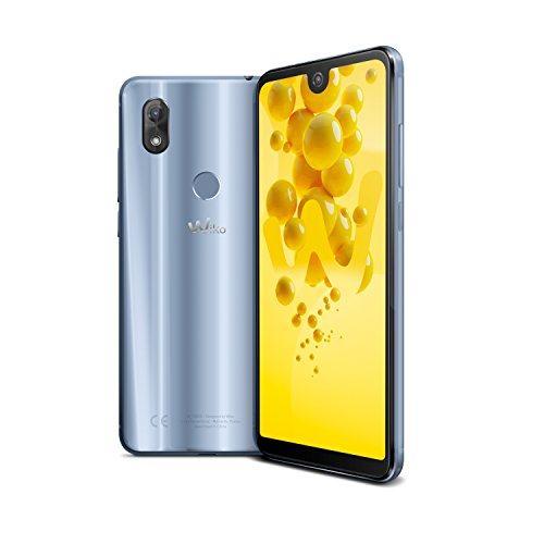 Wiko View 2 Smartphone (15,2 cm (6 Zoll) Display, 32GB interner Speicher, Android 8 Oreo) grau
