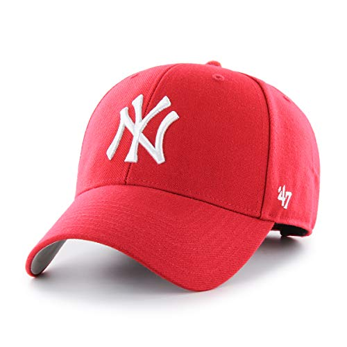 ´47 MLB New York Yankees MVP Cap, Red, One Size