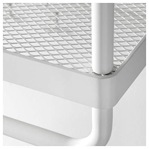IKEA MACKAPÄR - Sombrero y perchero, color blanco