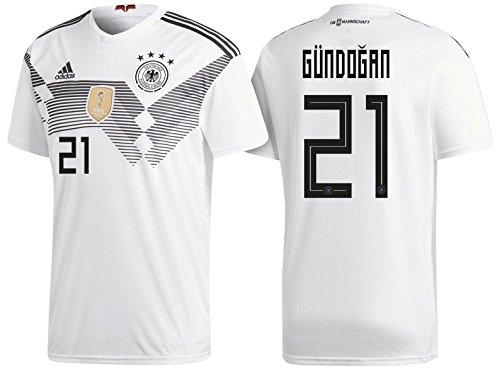 Trikot Herren DFB 2018 Home WC - Gündogan 21 (M)