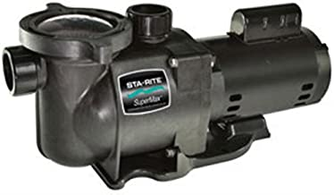 Pentair Sta-Rite N1-3/4A HP SuperMax Standard Efficient Single Speed High Performance Inground Pool Pump, 3/4 HP, 115/230-Volt