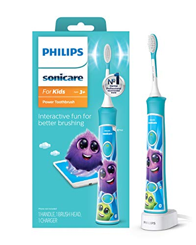 Product Image of the Philips Sonicare HX6321/02 Sonicare for Kids Rechargeable Electric Toothbrush,...
