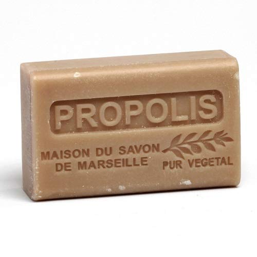 Französische Seife - Traditionelles Savon de Marseille - Propolis - Sheabutter 125g