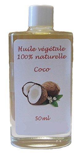 Huile végétale de Coco vierge 50ml
