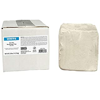 AMACO AMA46318R Air Dry Clay, 25 lbs. , White (Color may vary (B0009RLJZ4)   Amazon price tracker / tracking, Amazon price history charts, Amazon price watches, Amazon price drop alerts