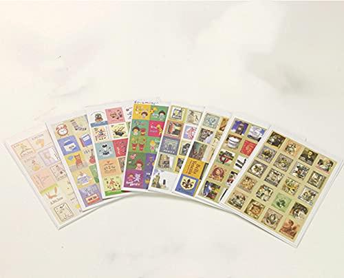 CHENX El Principito Okey Tina Sello Adhesivo Postal Pegatina Diario teléfono decoración Pegatina 32 Hojas