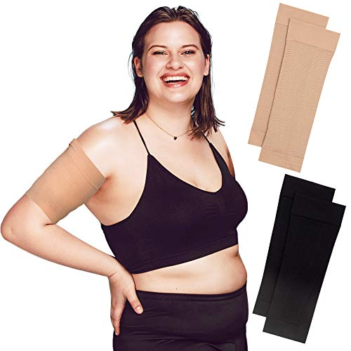 Arm Shapers For Women - Upper Arm Compression Sleeve To Help Tone Arms - Slimming Arm Wraps For Flabby Arms - Helps Shape Upper Arms Ideal For Plus...