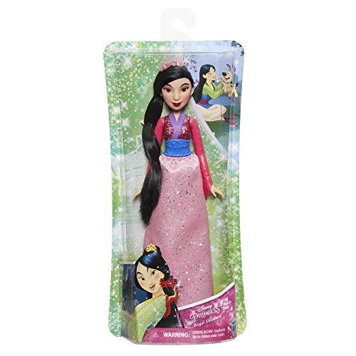 Hasbro E4167ES2 - Disney Prinzessin, Schimmerglanz Mulan, Puppe