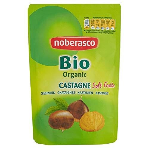 Bio Castagne Noberasco 100 g- Castagne bio pelate morbide pronte per essere consumate
