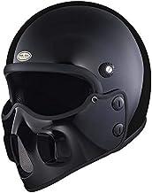 マッドマッスクJ06 マスク付 ジェットヘルメット ブラック マッドマックス ビンテージ ヘルメット フルフェイス SG/PSC Mad Max HiGH&LOW ハイアンドロー