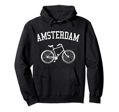 Amsterdam Hollandrad Fahrrad Holland Niederlande Souvenir Pullover Hoodie