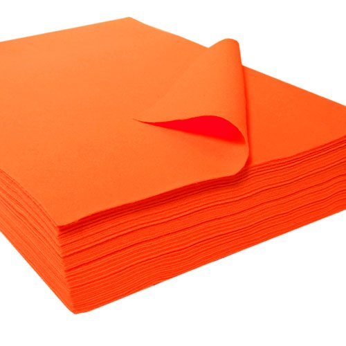 Orange Felt