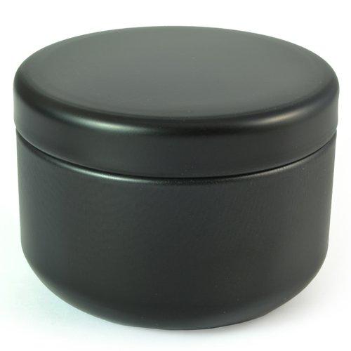 Petit Récipient De Boîte à Thé Vert Japonais - Noir Petit - Joint étanche Est Parfait Pour Voyager Et Garder Votre Frais De Thé En Feuilles