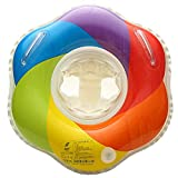IBanana Baby Swimming Ring,Inflatable Baby Swim Float Seat Swimming Ring with Double Handles
