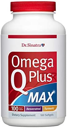 Dr Sinatra s Omega Q Plus MAX Advanced Heart Health and Healthy Aging Support for Healthy Cholesterol product image
