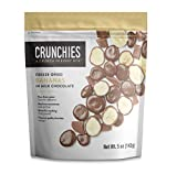 Crunchies Freeze-Dried Fruit in Milk Chocolate (6 Pack) (Bananas in Milk Chocolate)