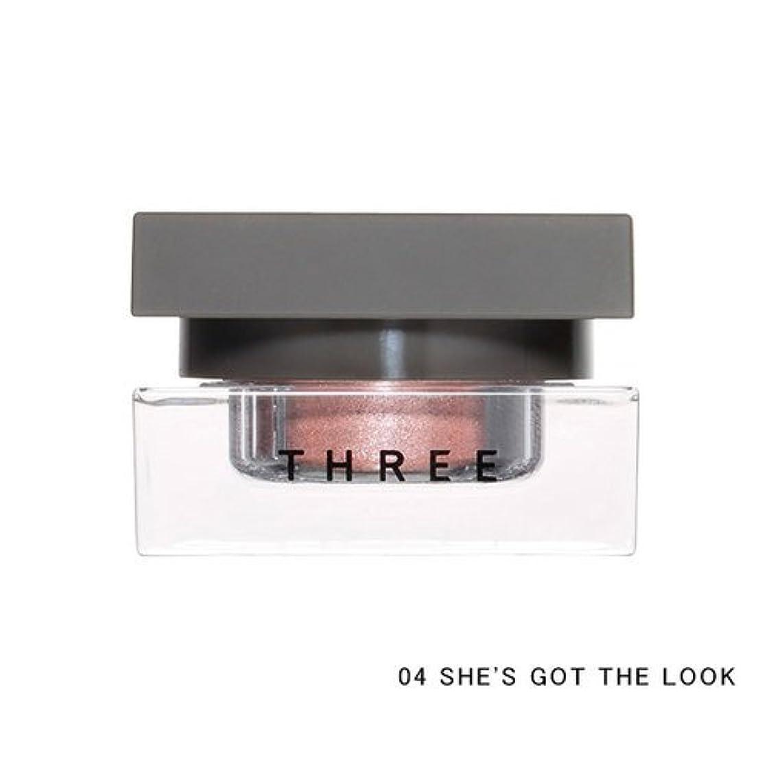 調停するスピーカー四分円THREE(スリー) THREE シマリングカラーヴェール ステートメント (04 SHE'S GOT THE LOOK)