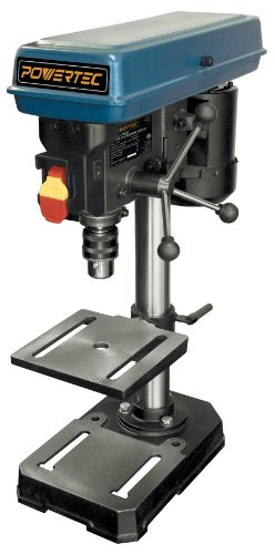 Read About POWERTEC DP801 Baby Drill Press, 5-Speed