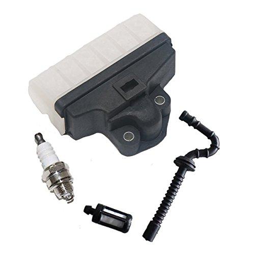 OxoxO Aftermarket Filtro de Aire, Manguera de Combustible, bujía, para Motosierra Stihl 021 023 025 MS210 MS230 MS250