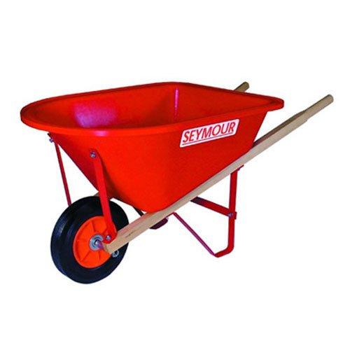 Seymour WB-JR Poly Tray Lightweight Childrens Size Wheelbarrow