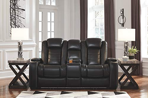 Ashley Party Time Power Reclining Sofa