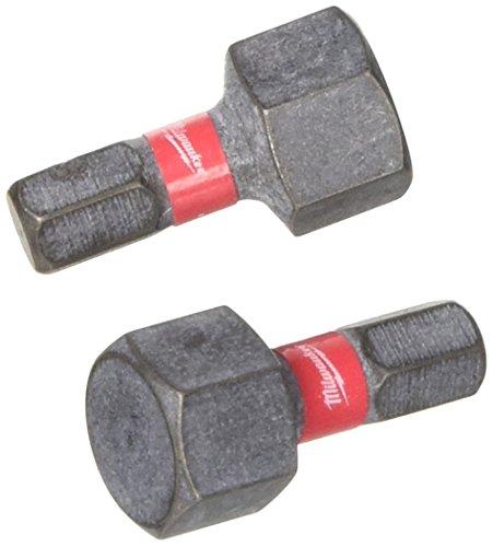 Milwaukee 4002395385621 schroefopzetstuk voor slagschroevendraaier, zwart